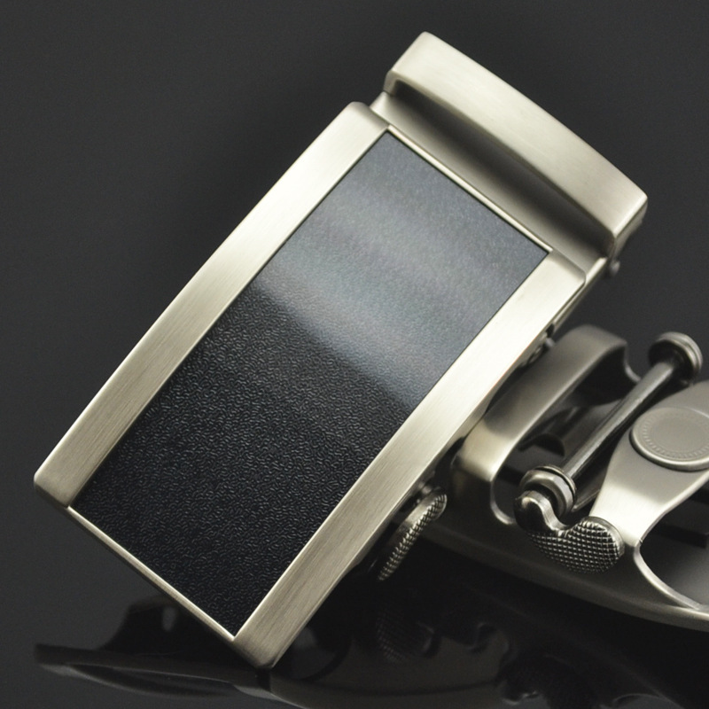 Automatic Buckle Men's Belt Buckle Men Plaque Belt Buckles For 3.5cm Ratchet Mens Apparel Accessories LY125-0773