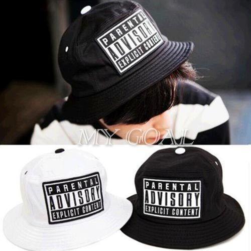 Fashion Bucket Hat Parental Advisory Bucket Hats for Men Women Hip Hop Bob  Outdoor Fishing Hat Casual Chapeu Masculino Sun Cap 93890106e12