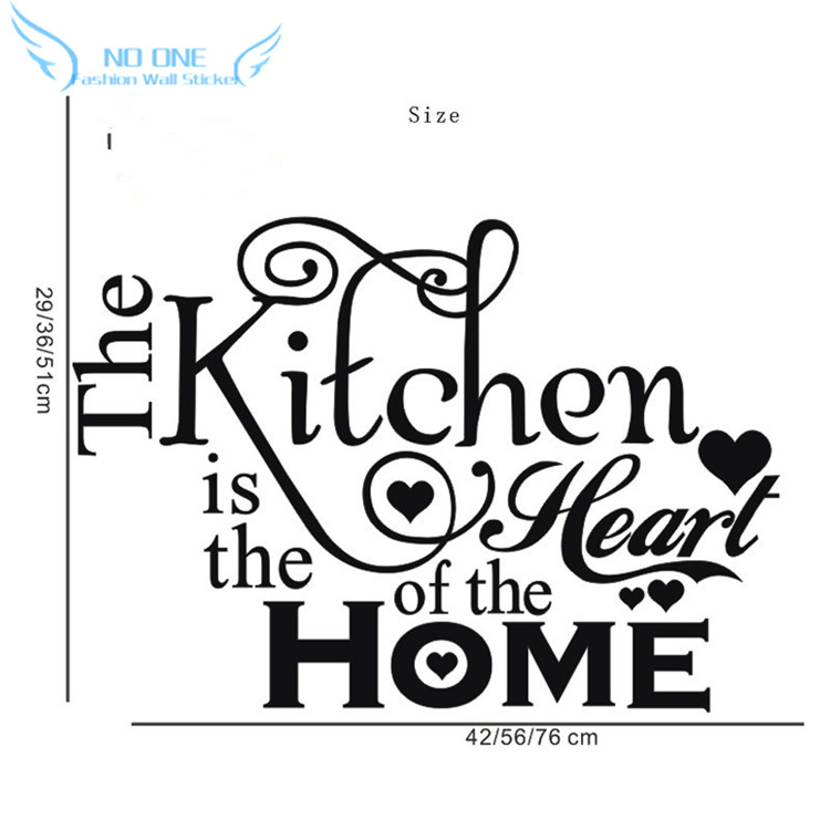 Kitchen House Of Love Vinyl Wall Sticker Home Decor Stikers For Decoration Stickers Diy In From Garden On