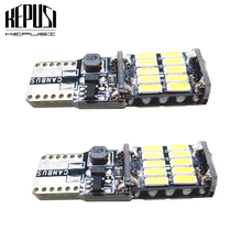 2x T10 W5W canbus LED 26smd Car Instrument Panel lamp Interior Light 194 168 Clearance light License Plate Bulb Parking