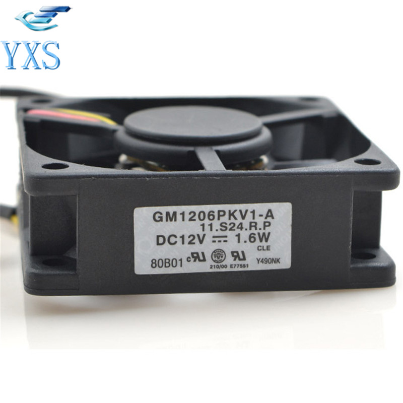 GM1206PKV1-A 11.S24.R.P DC 12V 1.6W 6cm 6015 60*60*15mm for Projector Cooling Fan
