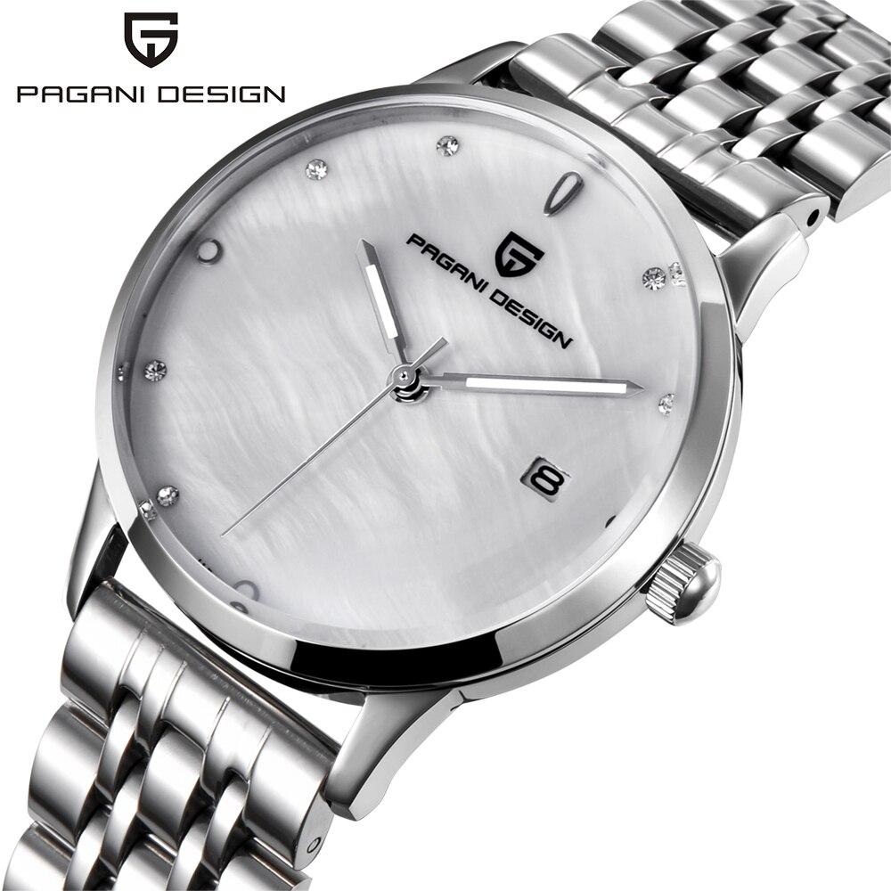 Moda reloj PAGANI diseño marca de lujo temperamento mujeres cuarzo reloj todo el reloj de acero ocasional romántico reloj Montre Femme