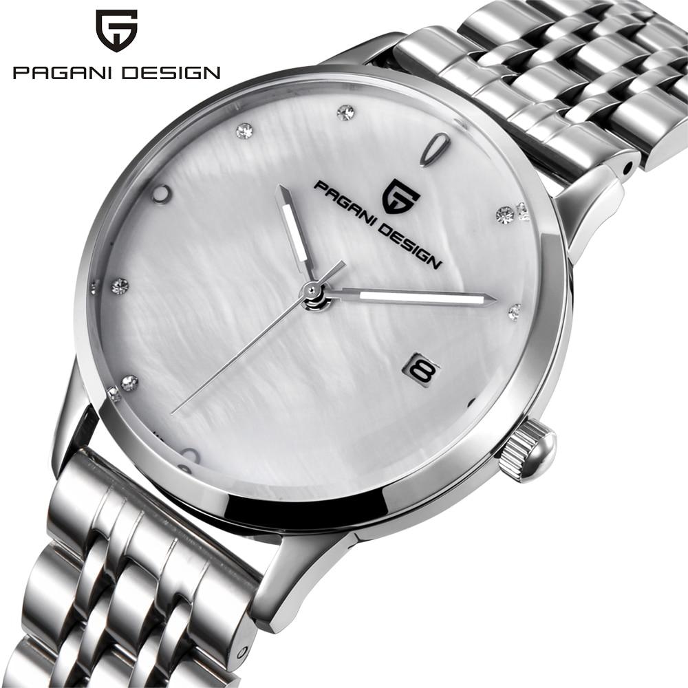 Mode montre femme PAGANI CONCEPTION marque de luxe tempérament Femmes montres à quartz tout acier décontracté romantique Montre montre femme
