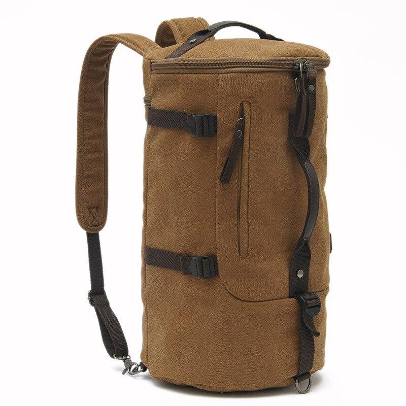 Grande capacité multifonction unisexe sac de voyage alpinisme sac à dos hommes sacs toile seau sac à bandoulière sac de voyage pour hommes - 3