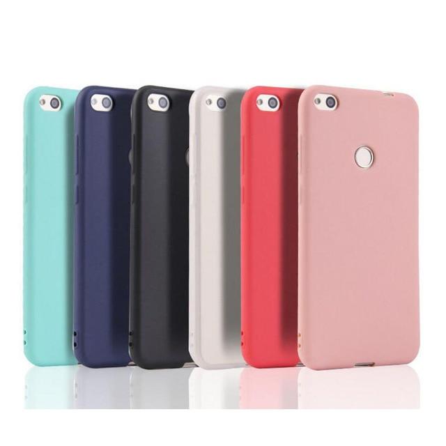Matte Candy Solid color Cover Xiaomi Redmi 4X 4A Note 5 5A S2 Prime Redmi 6 6A Note 6 Pro Mi A1 A2 lite Silicone TPU soft case