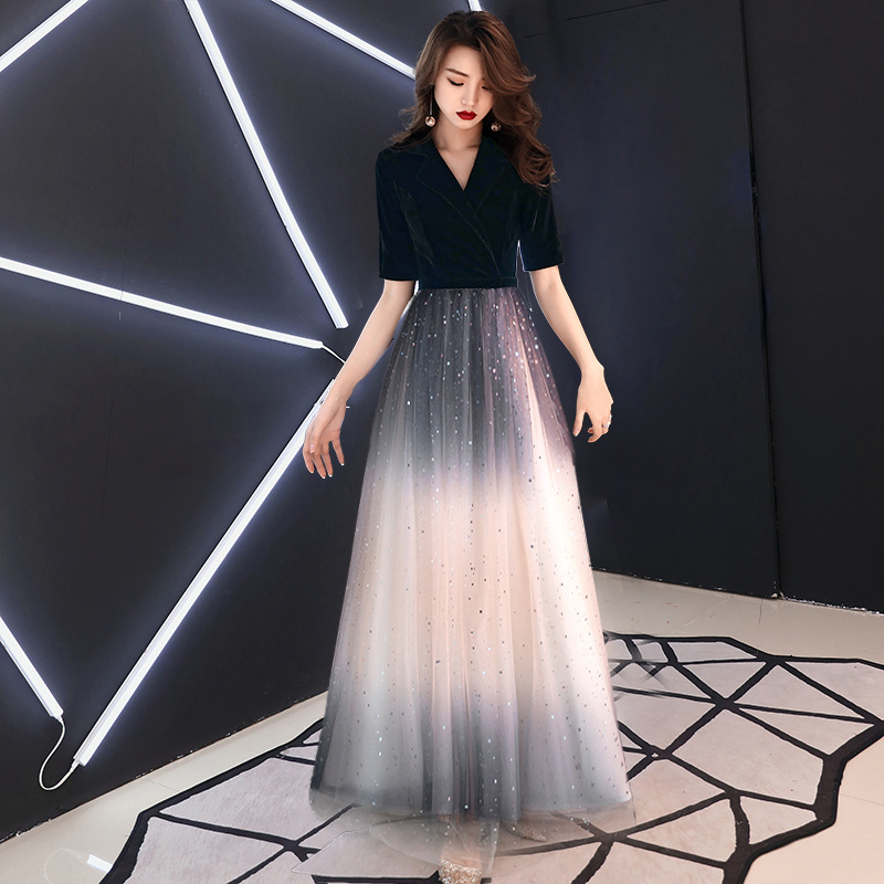 b5a06f8cc 2019 Gradual Change Oriental Style Dresses Chinese Bride Vintage ...