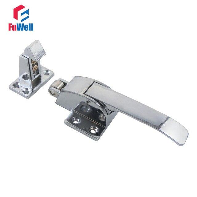 1pc Zinc Alloy Oven Door Handle Lock Spring Loaded Pull Handle Latch ...