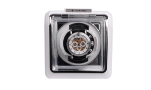 Image 3 - Jebely New Arrival White mini Single Watch Winder for automatic watches watch box automatic winder storage display case box