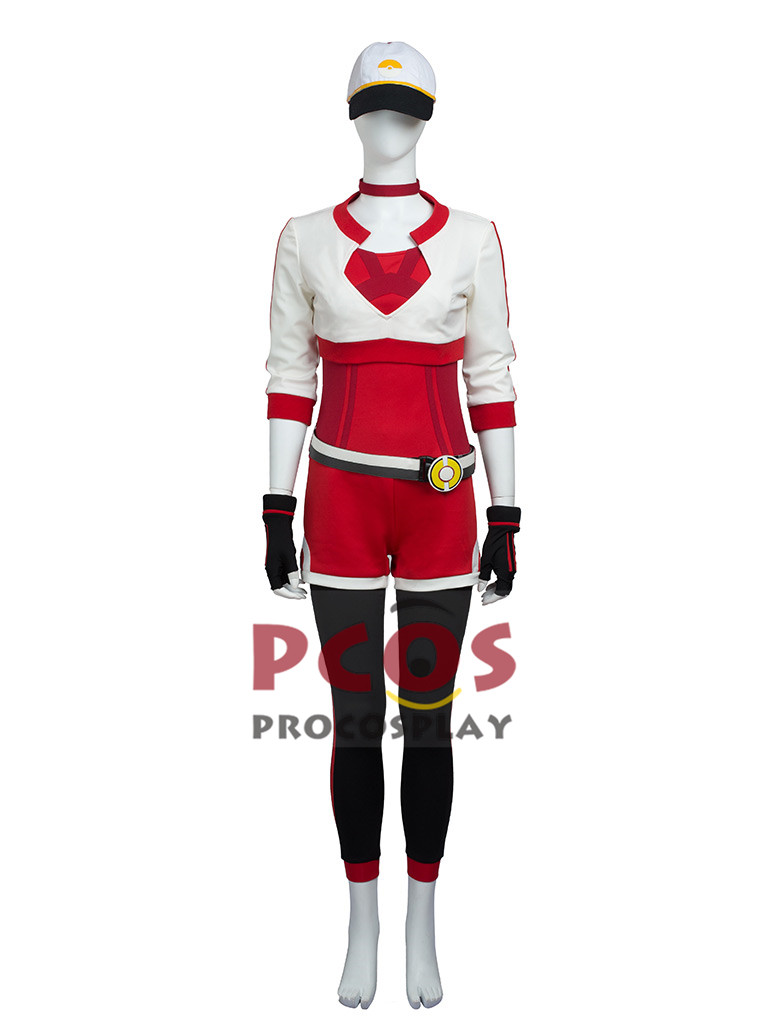 Best Pokemon Go Red version Cosplay Costume mp003483