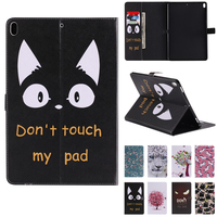 Cute Animals Do Not Touch My Pad Cat Support Protective Cover Case For Ipad Pro 10
