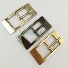 24pcs/lot 18mm metal alloy belt pin buckle rectangle buckle shinny nickle black gold bag belt accessories free shipping