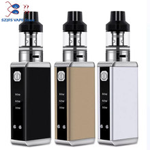 Electronic Cigarette YLGW box 80W vape kit Built-in 2200mAh battery Atomizer 3.5ml tank Vaporizer hookah  Vape Pen vs TXW  80W 80w vape pen hookah starter kit 4ml atomizer tank e cigarette with 1800mah battery box mod metal body electronic cigarette kits