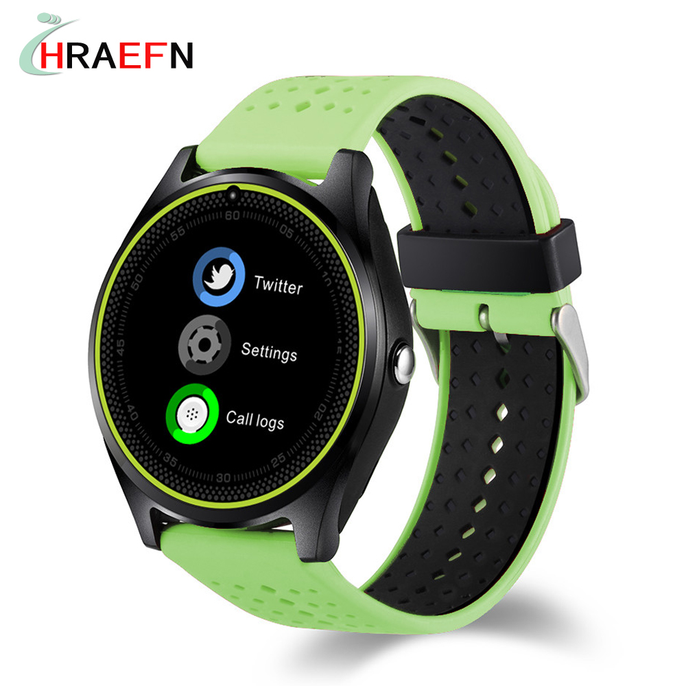 smart watch v9 support sim card 2g camera sport health mp3 music clock men women smartwatch for. Black Bedroom Furniture Sets. Home Design Ideas
