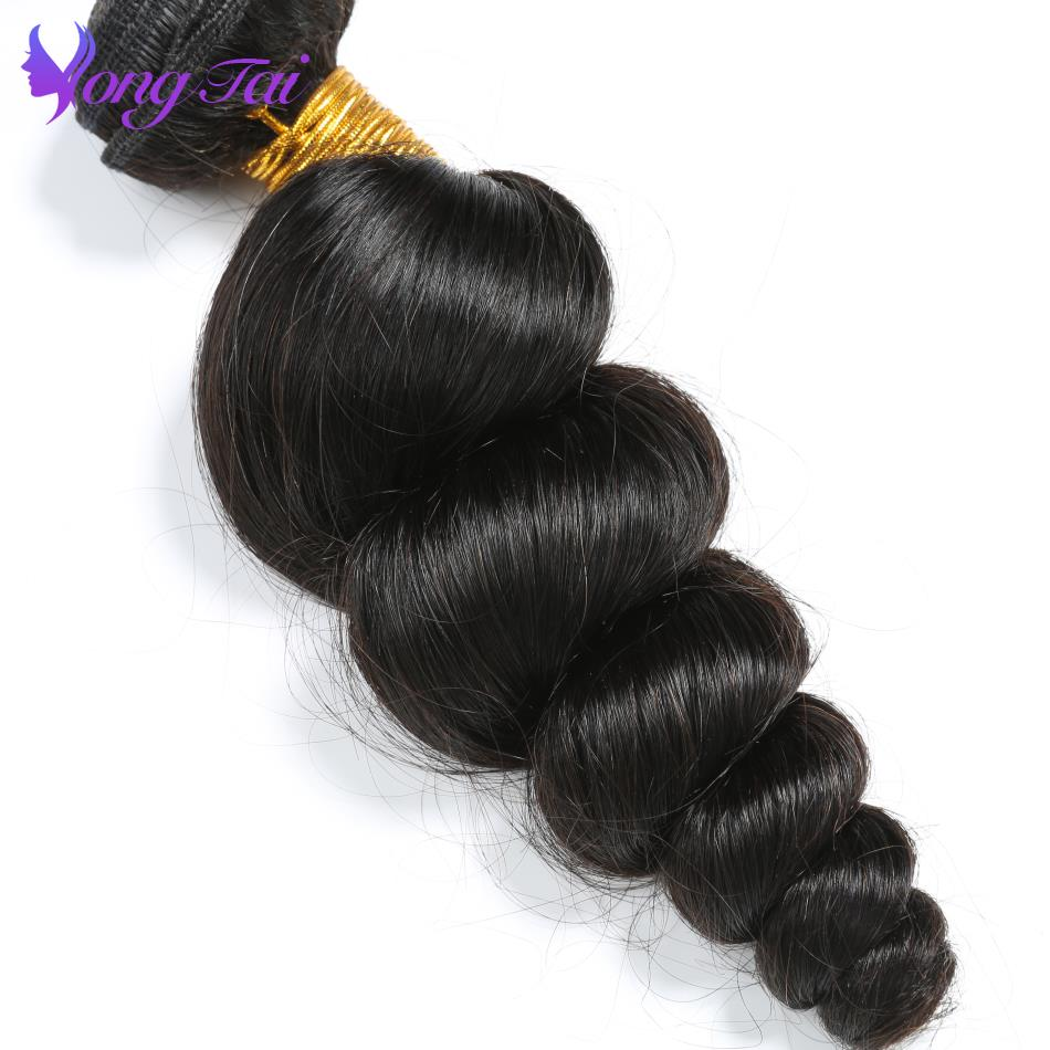 Chinese Loose Wave Hair 7 Bundles 100% Unprocessed Remy Human Hair Weaves Yuyongtai Hair Vendors Natural Color 10-26 Inch
