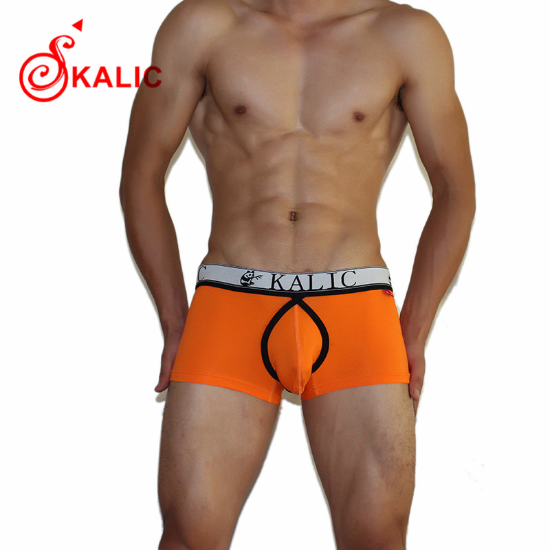 2015 New Brand KALIC Cotton Mens Underwear Boxers Boxer Shorts Man Sexy Short Clothing
