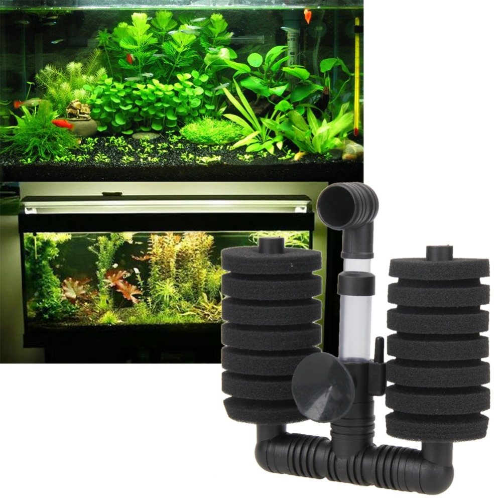 Aquarium fish tank air pump biochemical sponge filter - 2017 New Fish Tank Filter Aquarium Biochemical Sponge Filter Fish Tank Air Pump Air Filter Aquariose Accessories In Filters Accessories From Home Garden