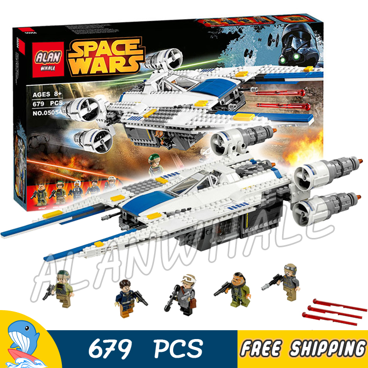 679pcs New Space Wars Rebel U-Wing Battle Fighter 05054 Model Building Blocks Assemble Children Toys Bricks Compatible With Lego 499pcs new space wars at dp robots 10376 model building blocks toys gift rebels animated tv series bricks compatible with lego