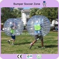 Free Shipping 1.5m Clear PVC Human Bubble Ball Inflatable Bubble Soccer Ball Soccer Bubble Bumper Ball Zorb Ball