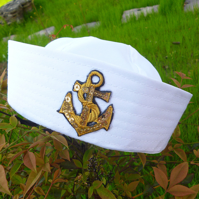 Kid's Anchor Embroidery Cotton Cap 5