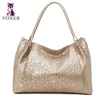 FOXER High End Luxury Fashion Leather Shoulder Bag Diagonal Package 2016 New Brand Of 100 High