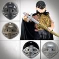 Halloween Children Hat Helmet Medieval Ancient Rome Warrior Helmet Rome Samurai Armor Plastic Hat Toy