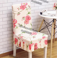 1pc Household elastic integral dining table chair cover simple modern stool cover hotel restaurant seat cloth cloth art