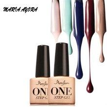 MARIA AYORA Beauty 10colors Top Coat Nail Gel Polish Nail Art Top Coat Gel Lacquers Long Lasting Nail Gel Glue