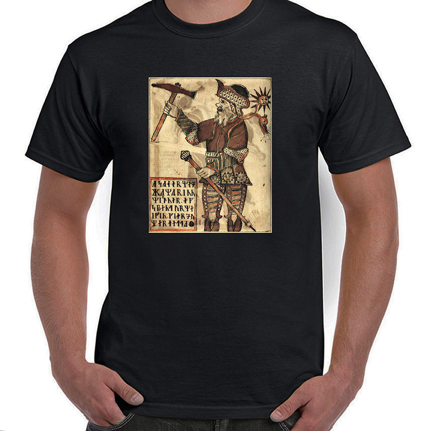 Thor with Hammer, Norse Mythology, Odin's Son, T-Shirt, All Sizes, Styles, NWT T Shirt Gift More Size and Colors Top Tee