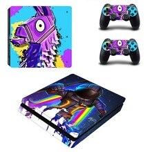 НОВАЯ тонкая наклейка для PS4, Виниловая наклейка для консоли Playstation 4 и 2 контроллера PS4, тонкая наклейка s
