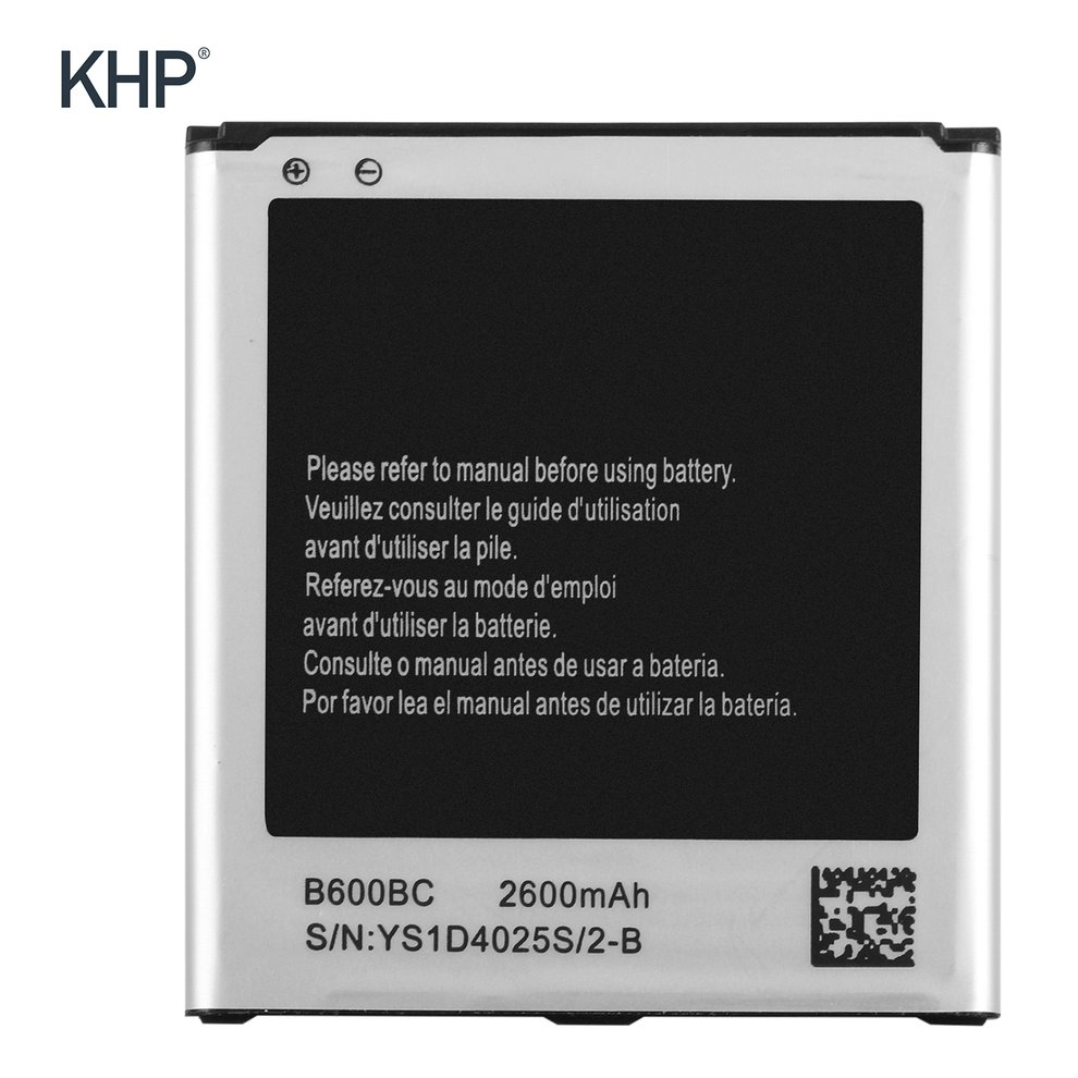 KHP 9.88WH 3.8V 2600mah Cellphone Li-ion Battery Spare Replacement for Samsung Galaxy S4 IV I9500 I9502 I9505 I9508 NFC