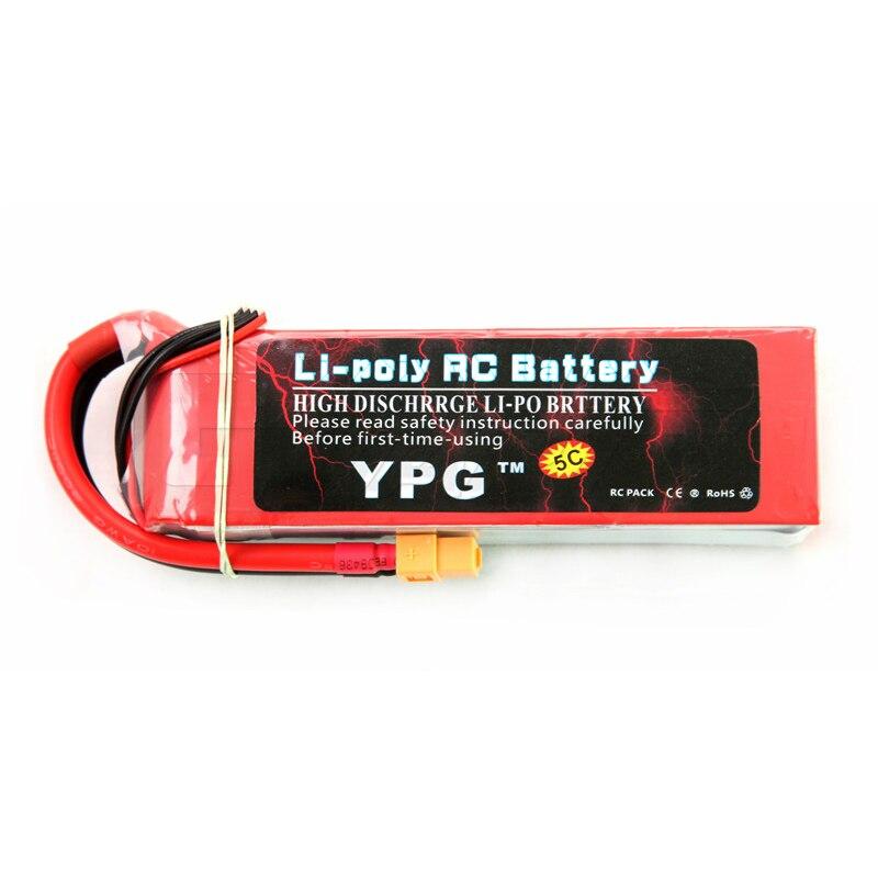 YPG 11.1 V 5200 Mah 40C 3 S Lipo li-po Lipoly batterie pour hélicoptère RC et avion et voiture