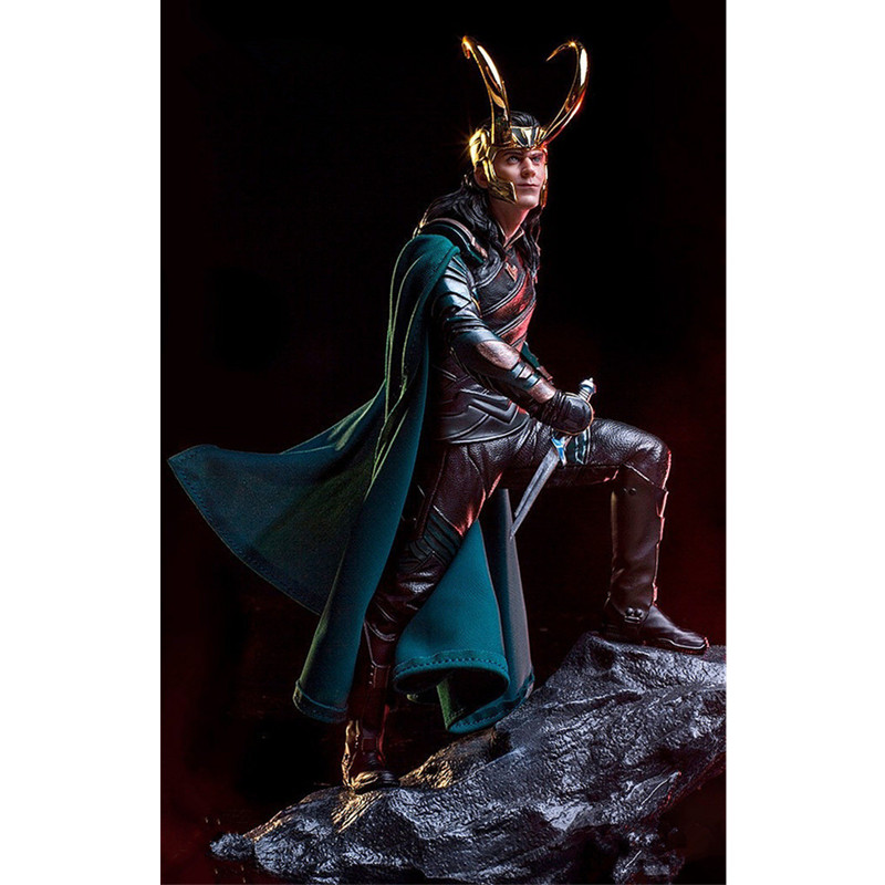 The Final Battle Of The Avengers 4 Statue Loki Supervillain PVC Action Figure Collect Model Toy M949The Final Battle Of The Avengers 4 Statue Loki Supervillain PVC Action Figure Collect Model Toy M949