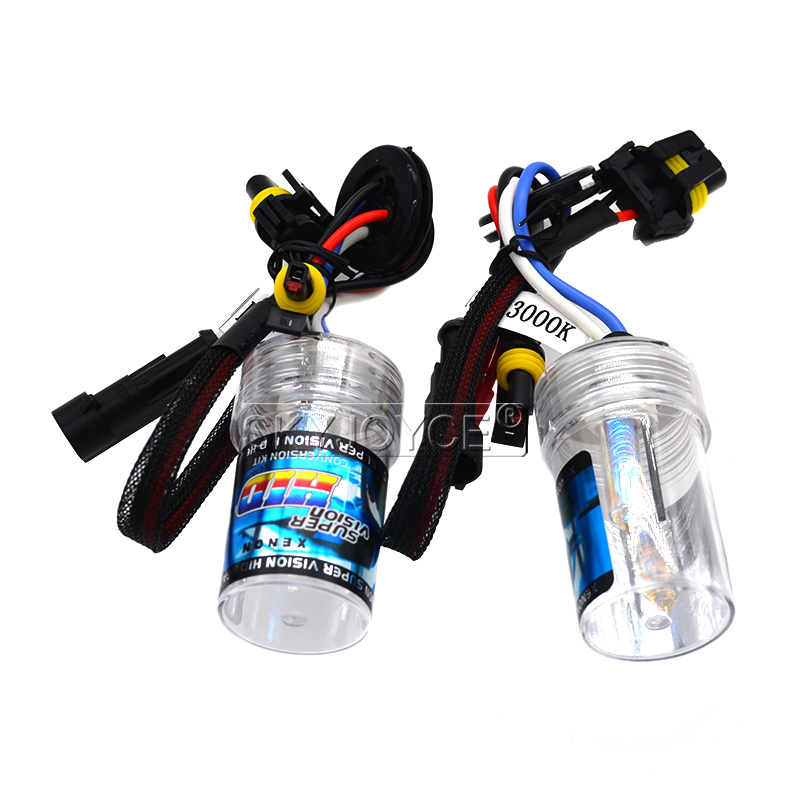 SKYJOYCE 12V 35W AC HID Xenon Conversion Kit Slim Ballast Ceramics HID Xenon bulb H3C 3000K 4300K 6000K 8000K Car Headlight Kit (1)