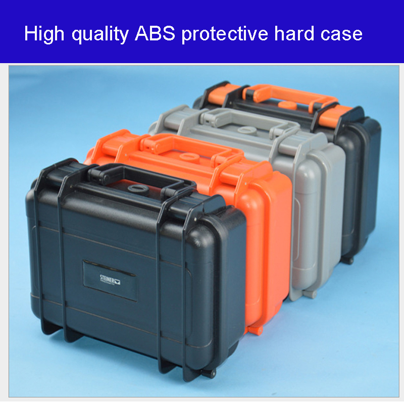 High Quality ABS Tool Case Protective Toolbox Impact Resistant Waterproof Case Equipment Case Camera Box With Foam Lining