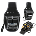 Electrician Waist Pocket Tools Belt Pouch Bag Utility Screwdriver Kit Holder Multifunctional Tool Bag FULI