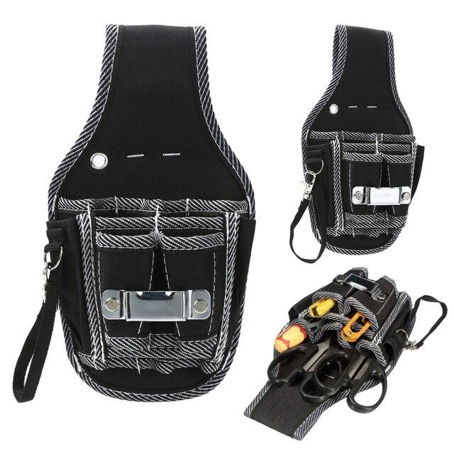 c83a6c18b5b5a € 5.68 32% de réduction|Outils de quincaillerie utilitaire sac ceinture de  poche électricien outils sac de rangement tournevis pinces outils à ...