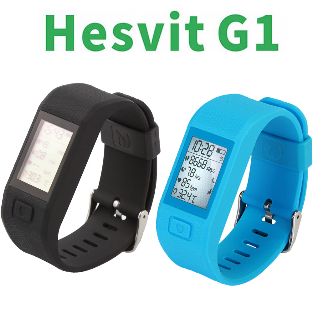 ФОТО  New original Hesvit G1 BT4.0 Smart Watch Bracelet Fitness Tracker Automatic Activity Tracker for Andriod iOS in Stock