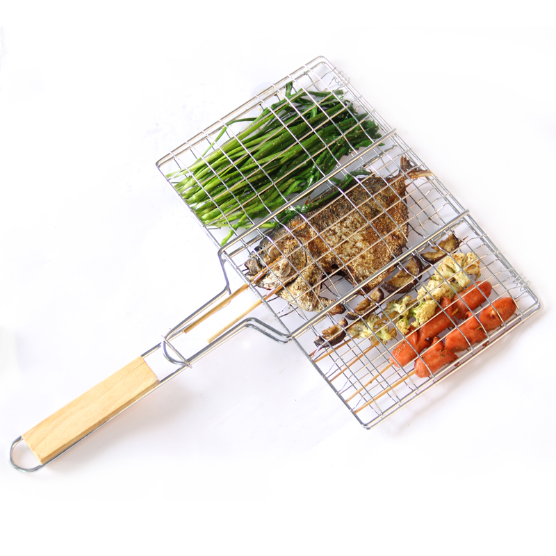 BBQ fish net ,barbecue grill Special bbq grill racks,stainless steel barbecue,bbq tools set bbq grill accessories