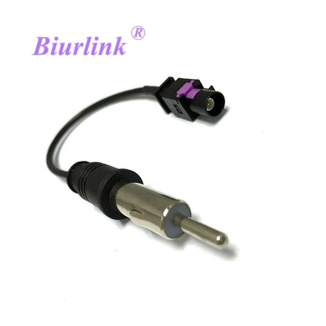 Universal One Way OEM Car Radio Antenna Adapter Fakra External Cable ...