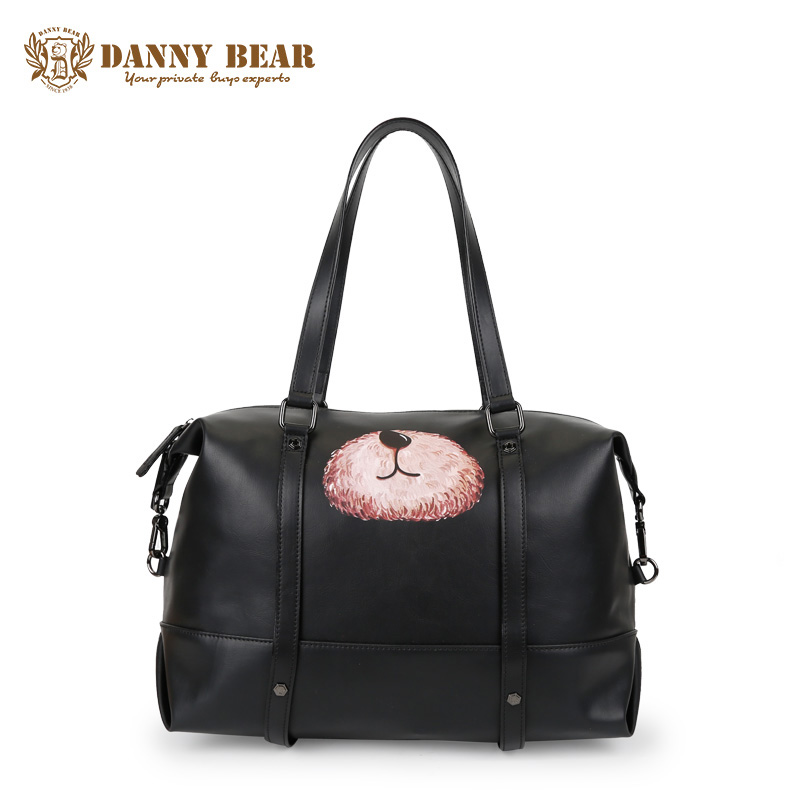 DANNY BEAR Cheap Leather Shoulder Bags For Men Women Brand Designer Handbag High Quality Fashion Laptop Travel Tote Bag Bolsa сумка danny bear db12535 3 db12535 3