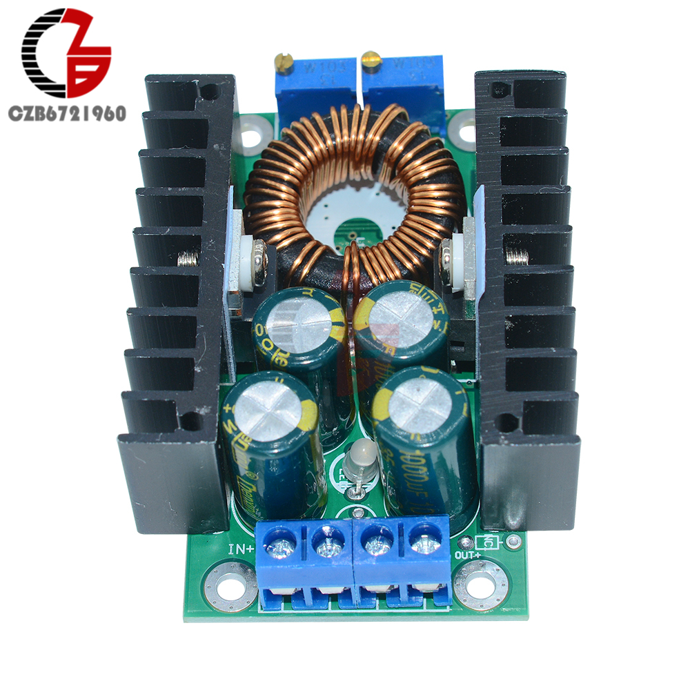 9A 300W CC XL4016 DC-DC Step Down Power Supply Transformer Module 5-40V to 1.2-35V Voltage Converter Regulator 12V 24V Buck image