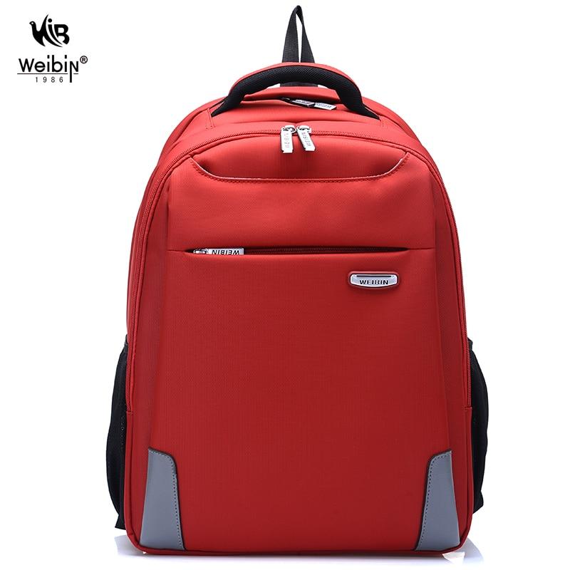 ФОТО Weibin Men's Backpack Men Business Laptop Backpacks Waterproof Nylon College School Bags For Teenager Fashion Daypack Mochila