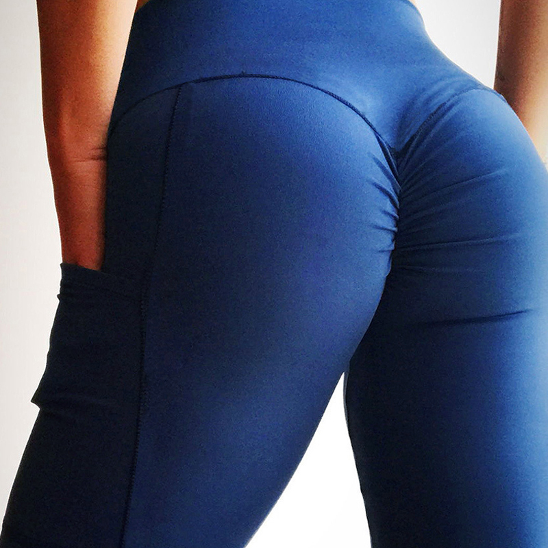 Push Up Fitness Leggings Women High Waist Workout Legging with Pockets Patchwork Leggins Pants Women Fitness Clothing 17