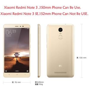 Image 3 - Für Xiaomi Redmi Hinweis 3 Flip Fall Abdeckung Nillkin Sparkle Leder Flip Fall Für Xiaomi Redmi Hinweis 3 Pro Prime telefon länge 150mm