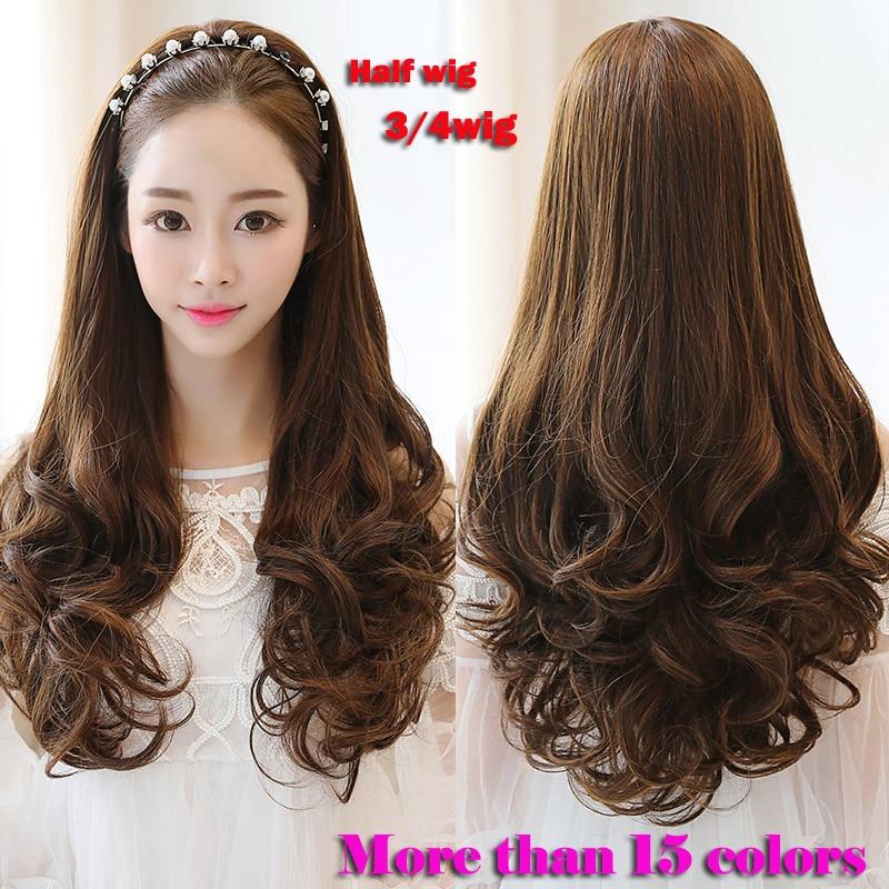 Half Wig Synthetic Cheap Half Head Wig 28 Quot Long Pruiken