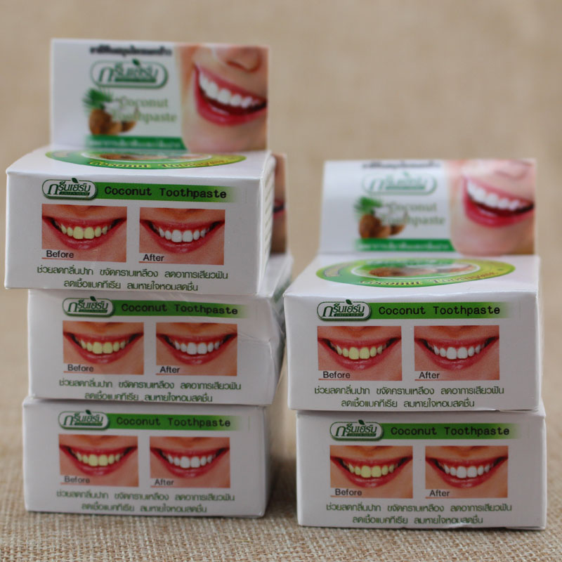 Whitening teeth remove smoke tea black yellow stains plaque to halitosis Dental Products Toothpaste