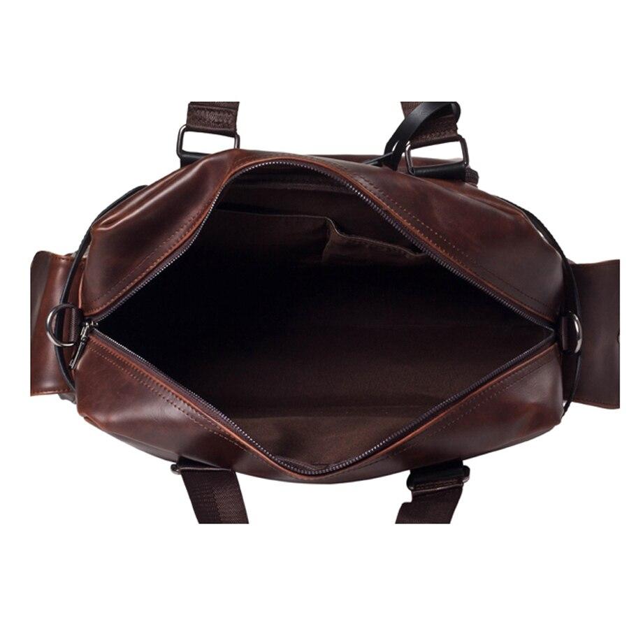 bolsa de homens de couro Whether Shipping : Free Shipping