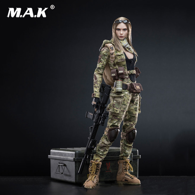 1:6 Scale MC Camouflage Women Soldier Villa VCF-2031 Action Figure for Collections 1 6 scale full set soldier the lord of the rings elven prince legolas action figure toys model for collections