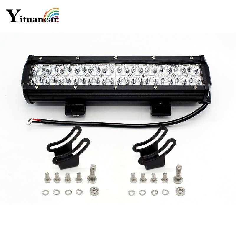 Yituancar 1 buc / set 72W 12 inch LED lumină de lucru pentru - Faruri auto
