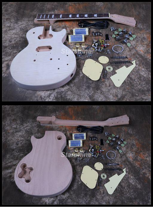 starshine diy electric guitar dk ulp1 abr bridge 1 piece neck body alnico pickups aaaa grade. Black Bedroom Furniture Sets. Home Design Ideas
